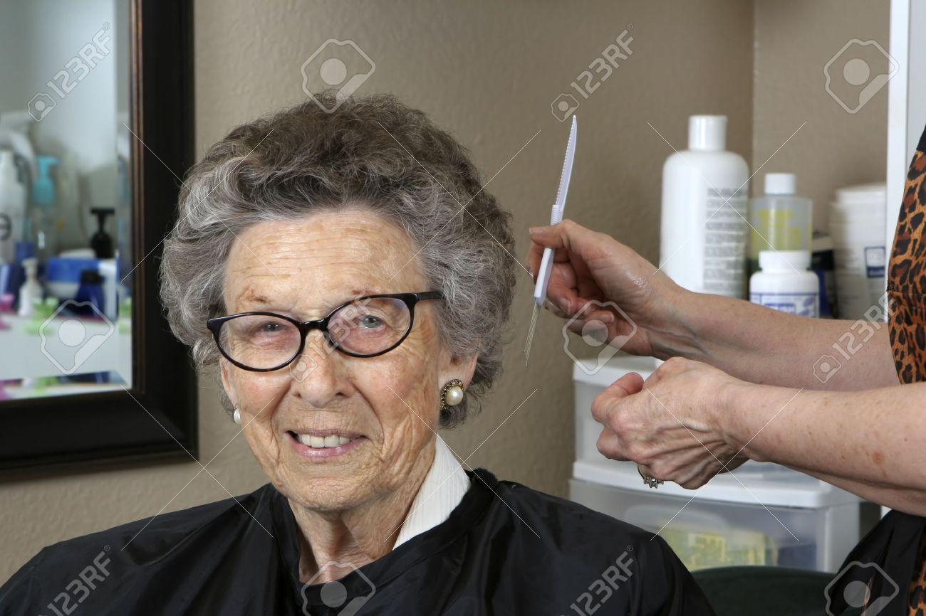 Coiffures Courtes Femmes Seniors