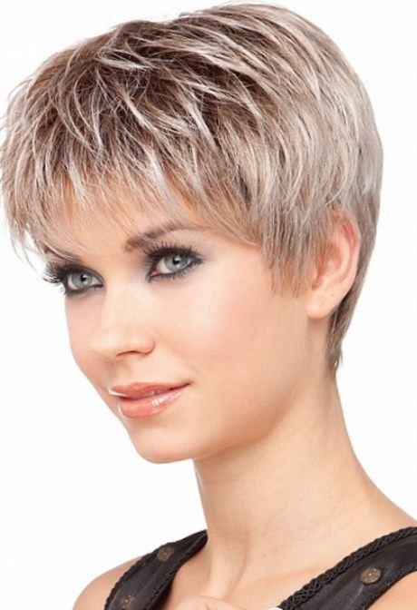 Style de coiffure femme cheveux court - Salon making of
