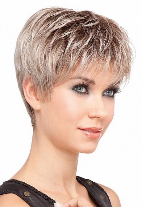 Model de coiffure femme cheveux court - Salon making of