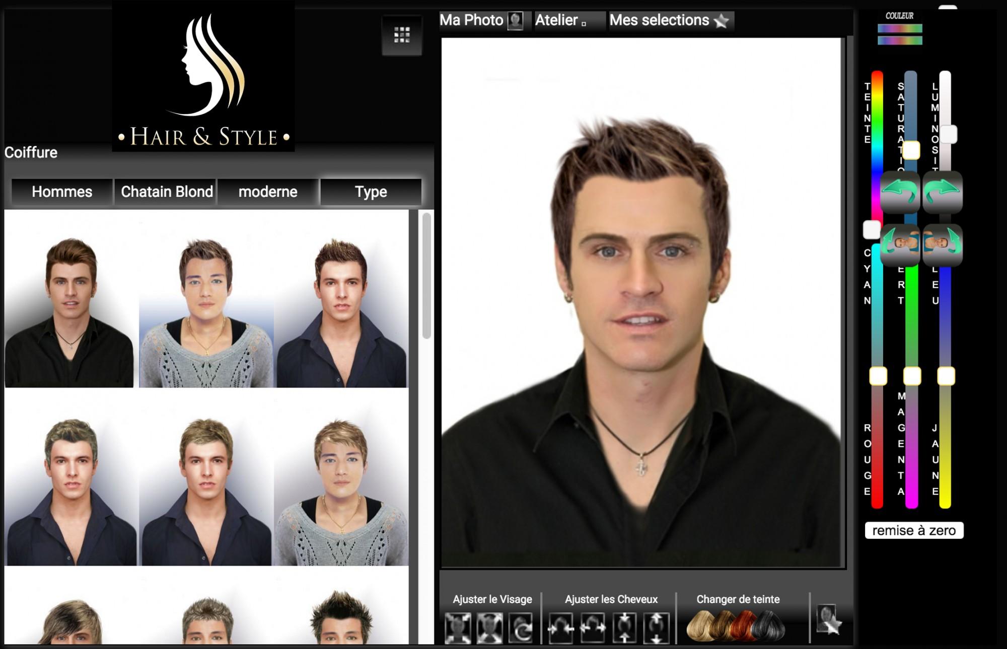 Tester une coupe de cheveux virtuellement homme for Tester coupe de cheveux en ligne homme