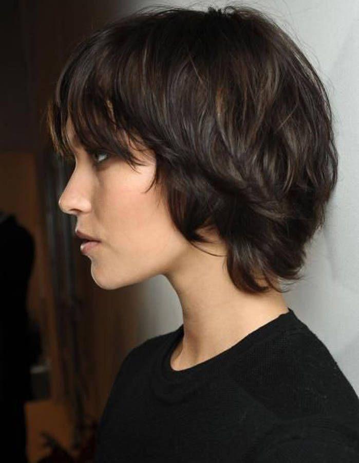 Hervorragend Coupe de cheveux femme carré dégradé court - Salon making of OK95
