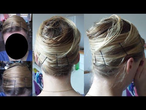 comment se lisser les cheveux sans chaleur salon making of. Black Bedroom Furniture Sets. Home Design Ideas
