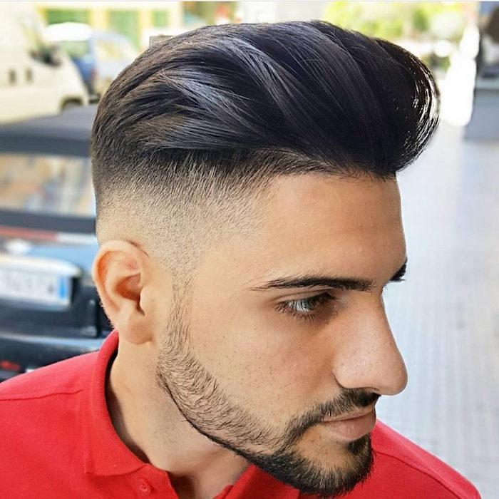 Bien connu Dégradé américain homme coiffure - Salon making of UT82