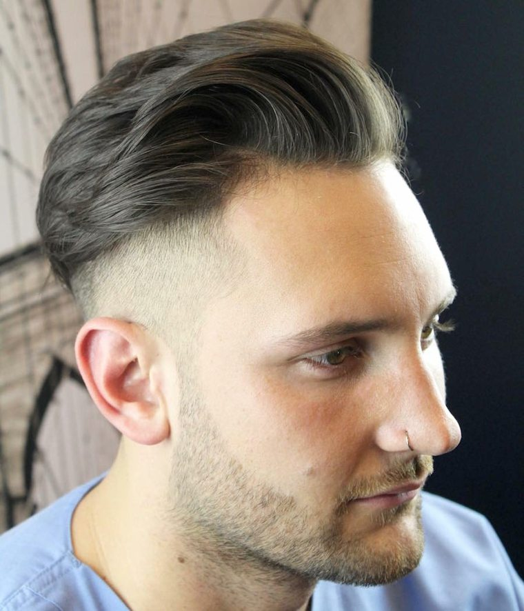 Coiffure homme moderne court - Coupe homme moderne ...