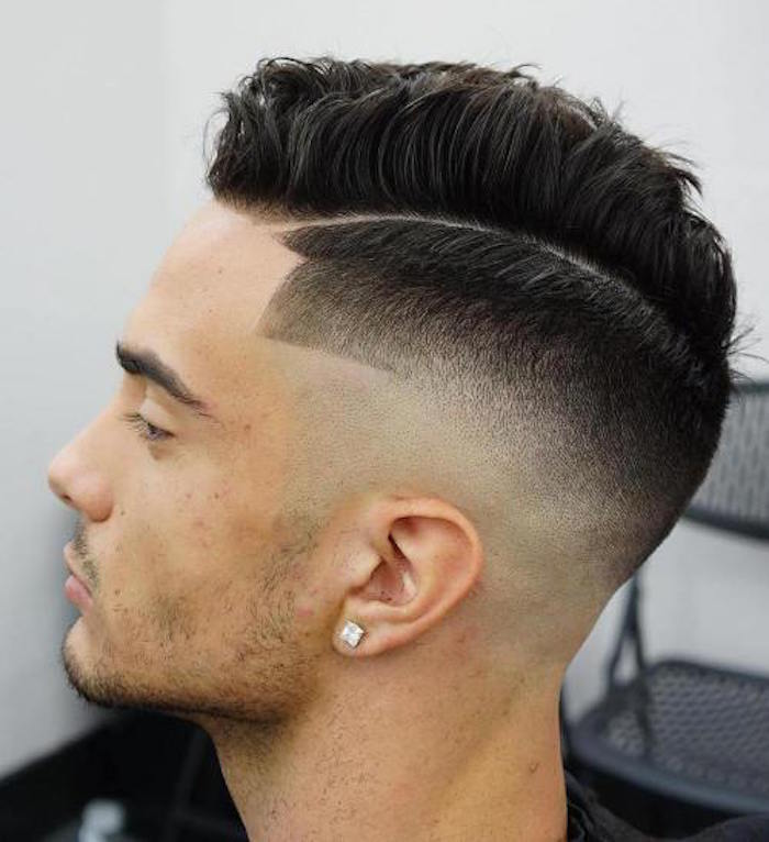 coiffure homme degrade americain 2017
