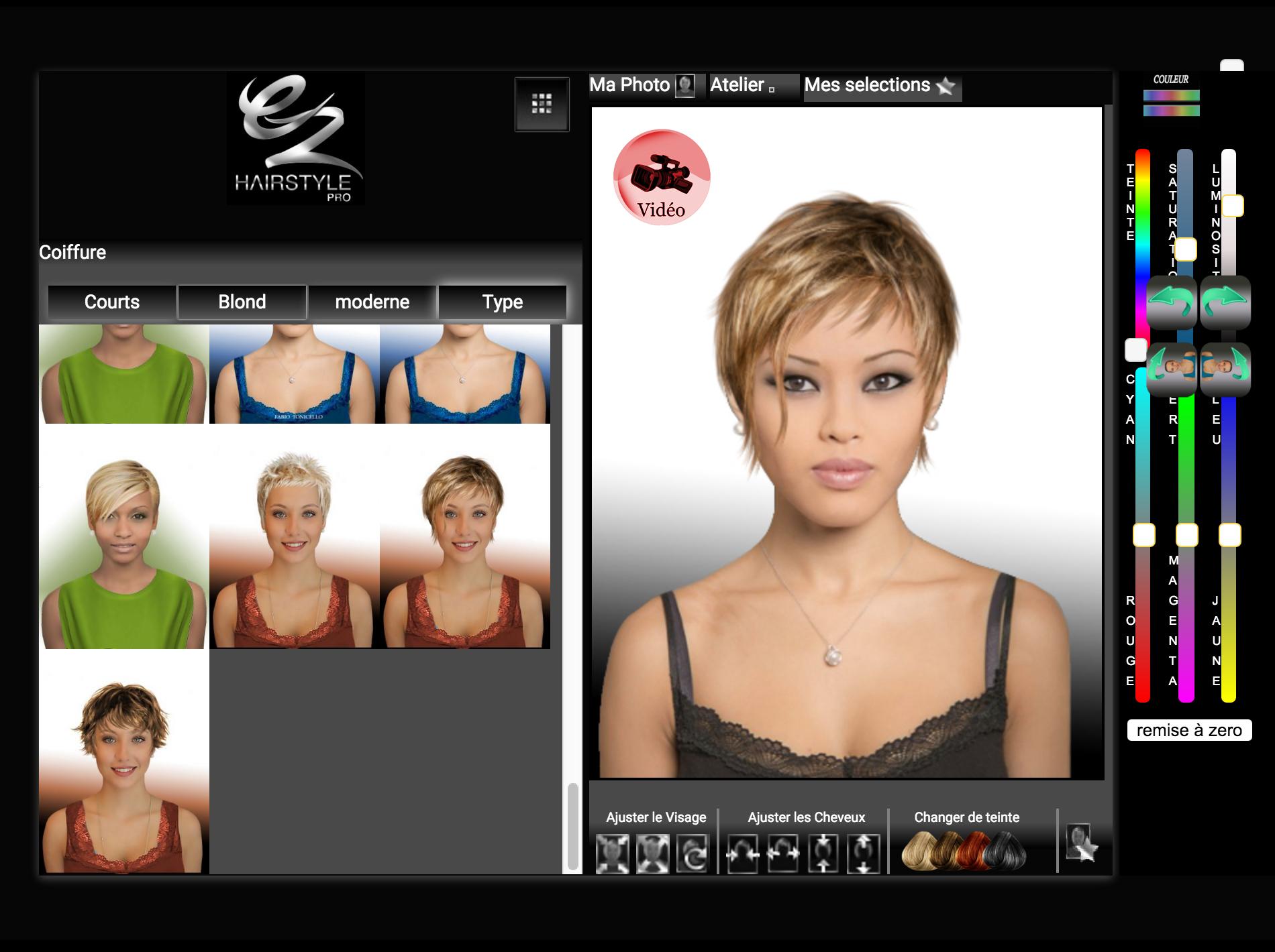 Changer de coiffure et couleur votre nouveau blog for Logiciel changer coupe de cheveux