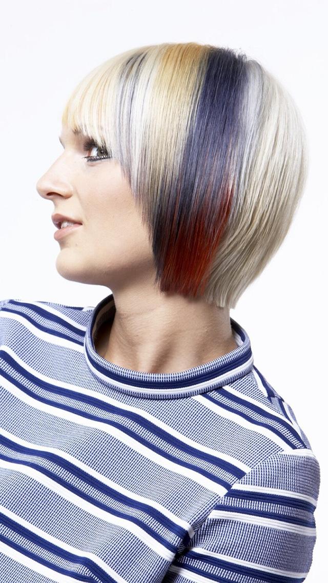 Simulateur de couleur de cheveux avec photo