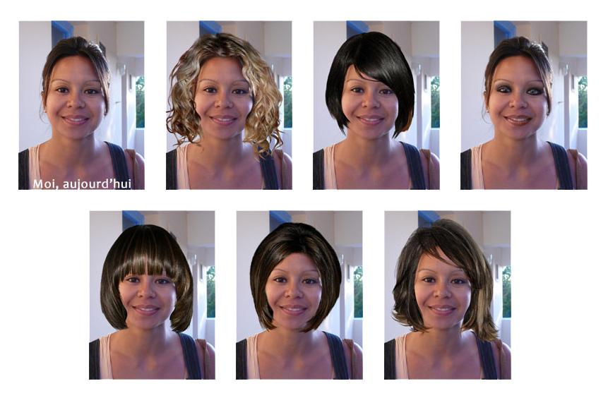 Tester la couleur de cheveux en ligne