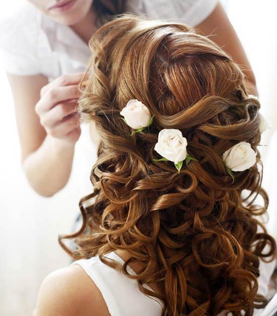 accessoire cheveux fleur pour mariage salon making of. Black Bedroom Furniture Sets. Home Design Ideas
